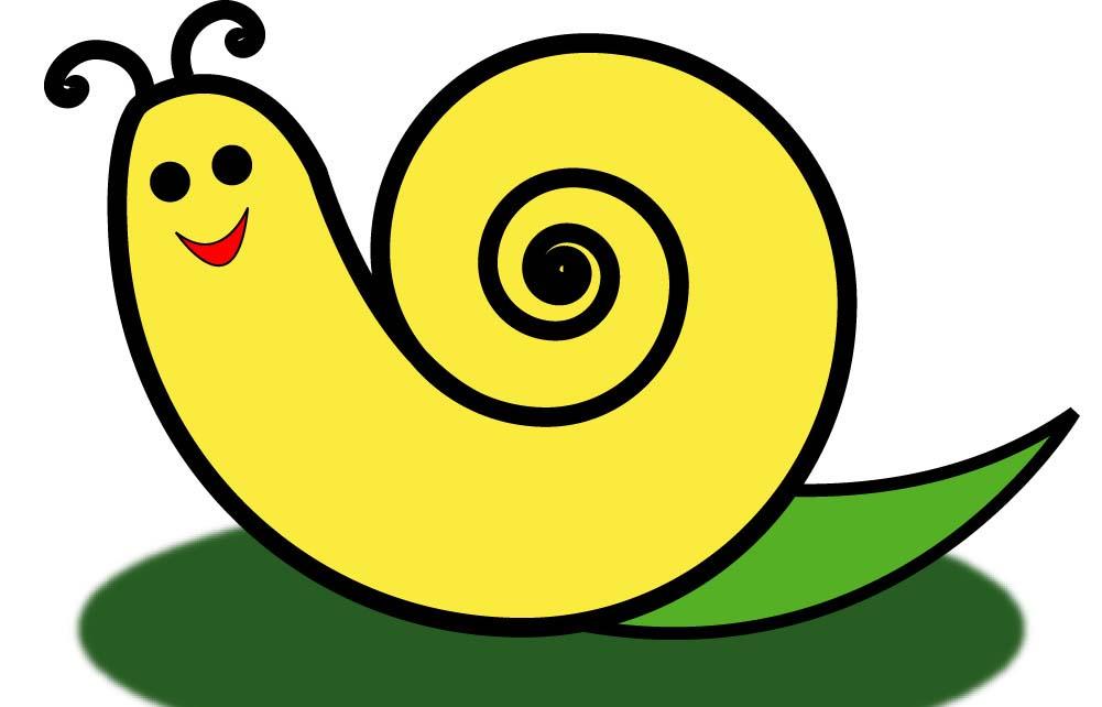 瓦楞纸立体动物蜗牛