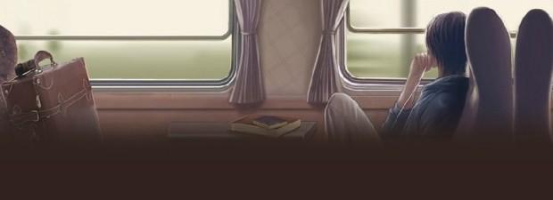 名言佳句,火车窗外风景