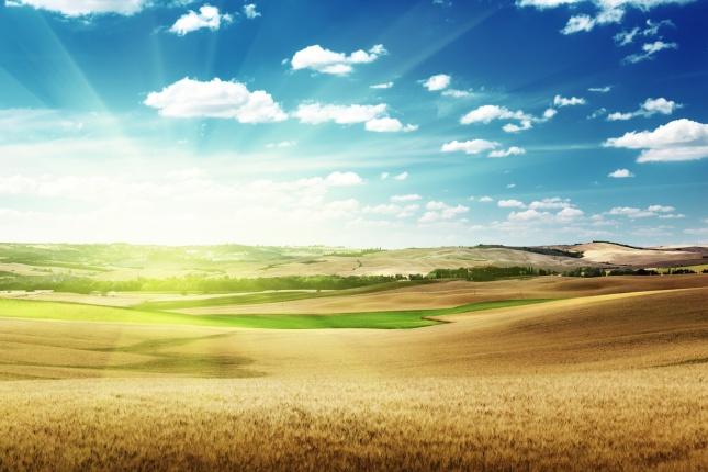 励志签名,蓝天白云风景图片