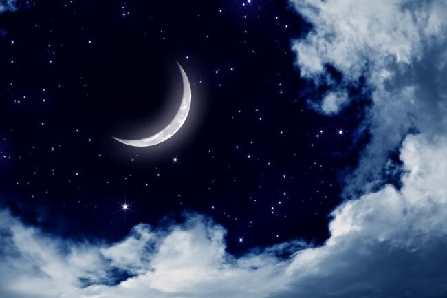经典语录,满天繁星的夜空图片