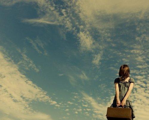 一路上,不要害怕寂静与孤独
