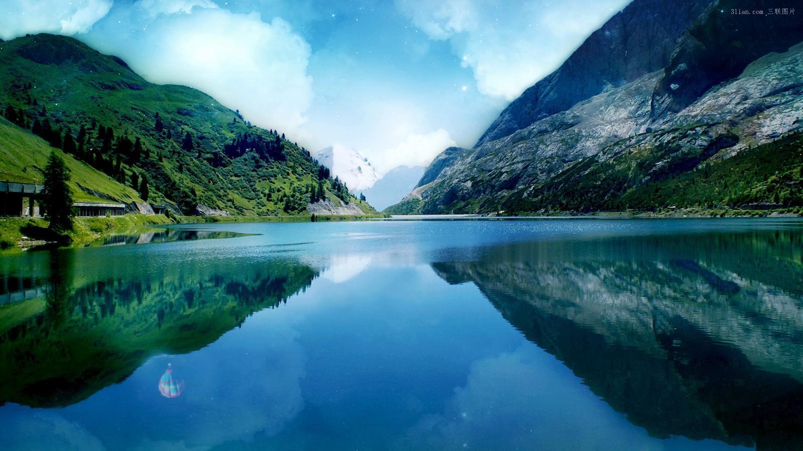 壁纸 风景 山水 摄影 桌面 1600_900