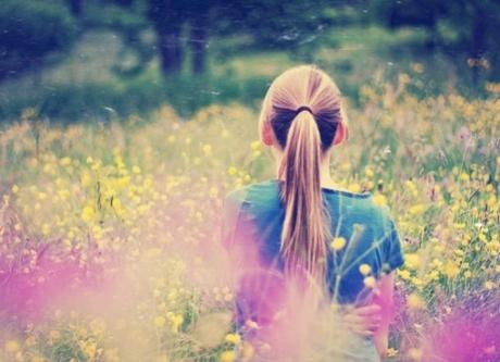 别站在烦恼里仰望幸福