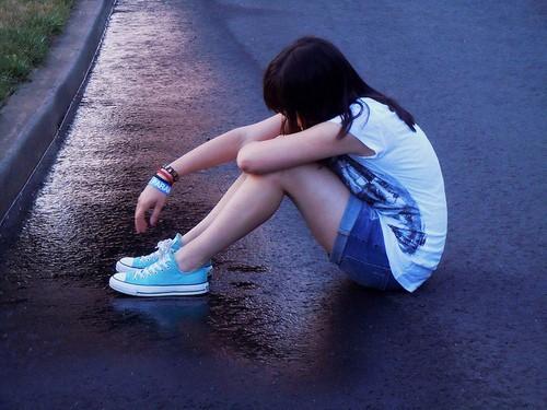 伤心的时候,找个地方静静的发呆