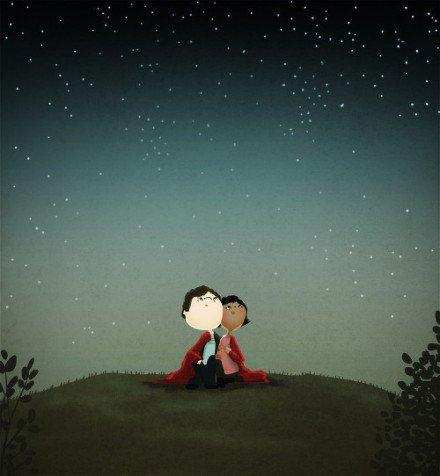 爱并没有那么深奥,能相依相伴便是最大的幸福